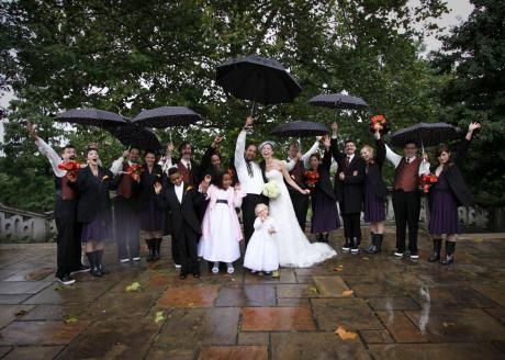 rain on party - 102411_wedding rain party